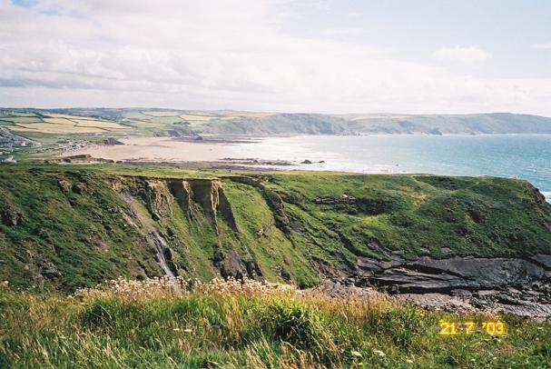Cornish Coastal Footpath - Bude to Newquay / 07 north cornwall ...